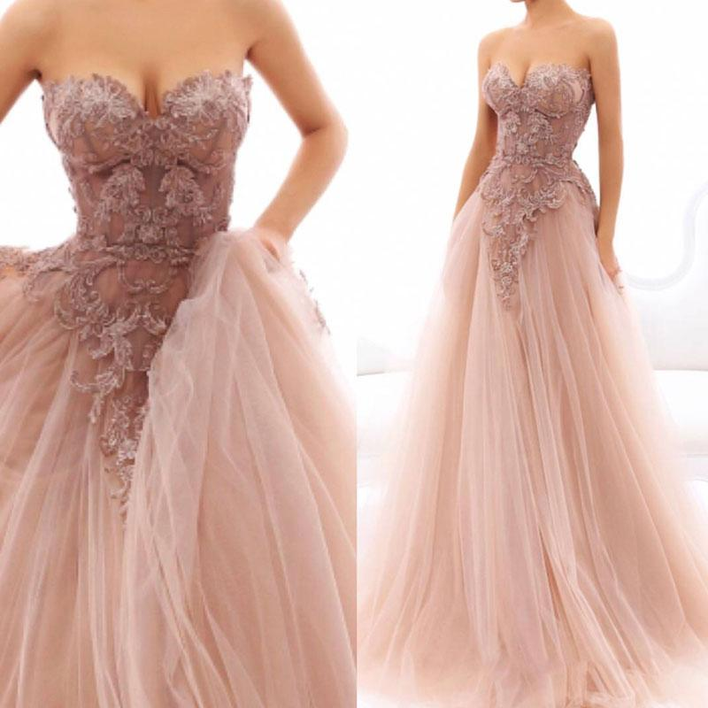 Dusty Pink Princess Dress