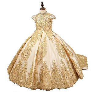 Royal Flower Girl Dress
