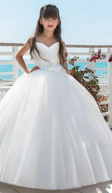Sweetheart Flower Girl Dress