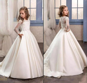 White First Communion Gown