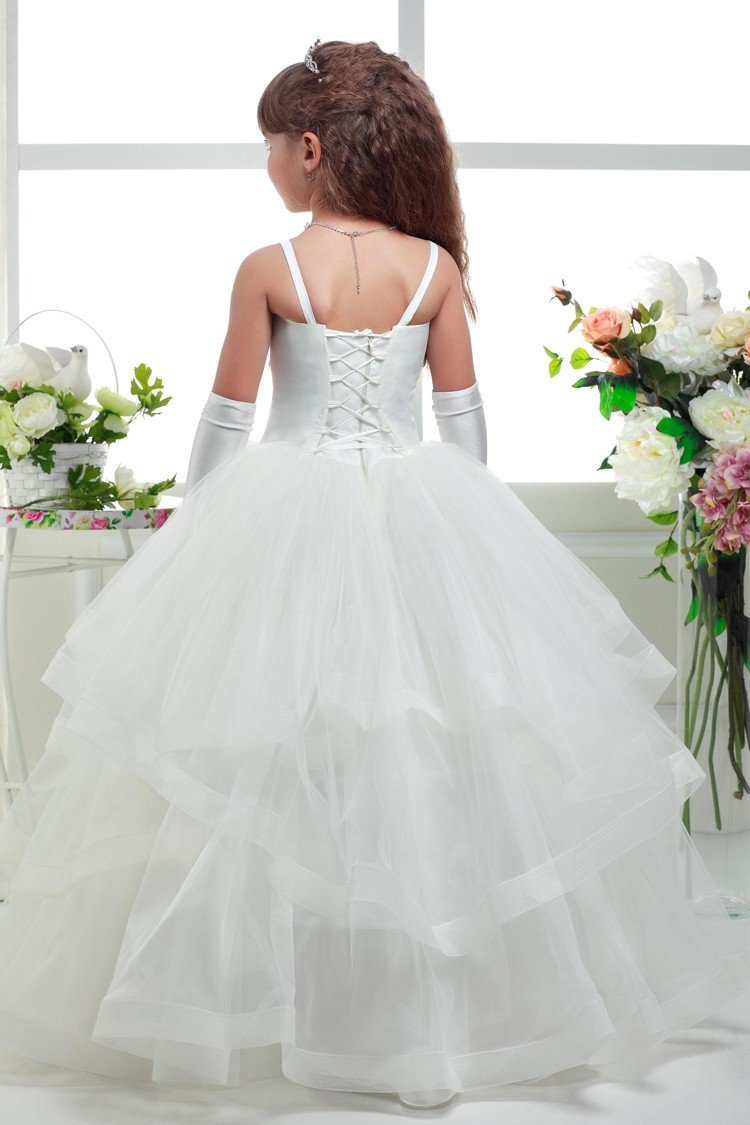 Princess Flower Girls Dress