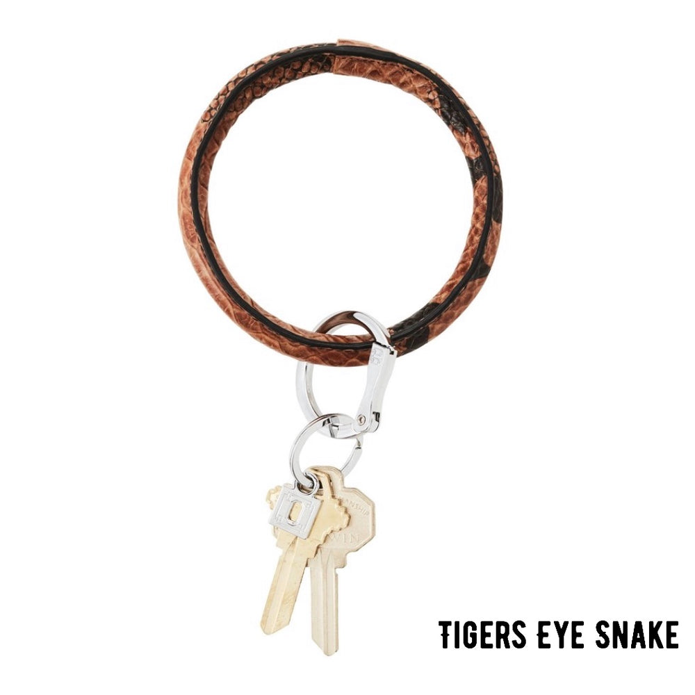Tiger Eye Snakeskin