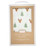 Muslin Christmas Swaddle