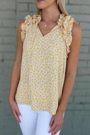 A Romantic Twist Tank
