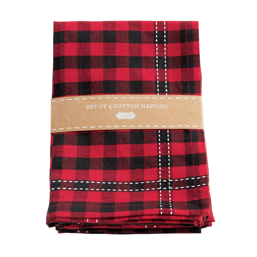 Buffalo Check Napkin Sets