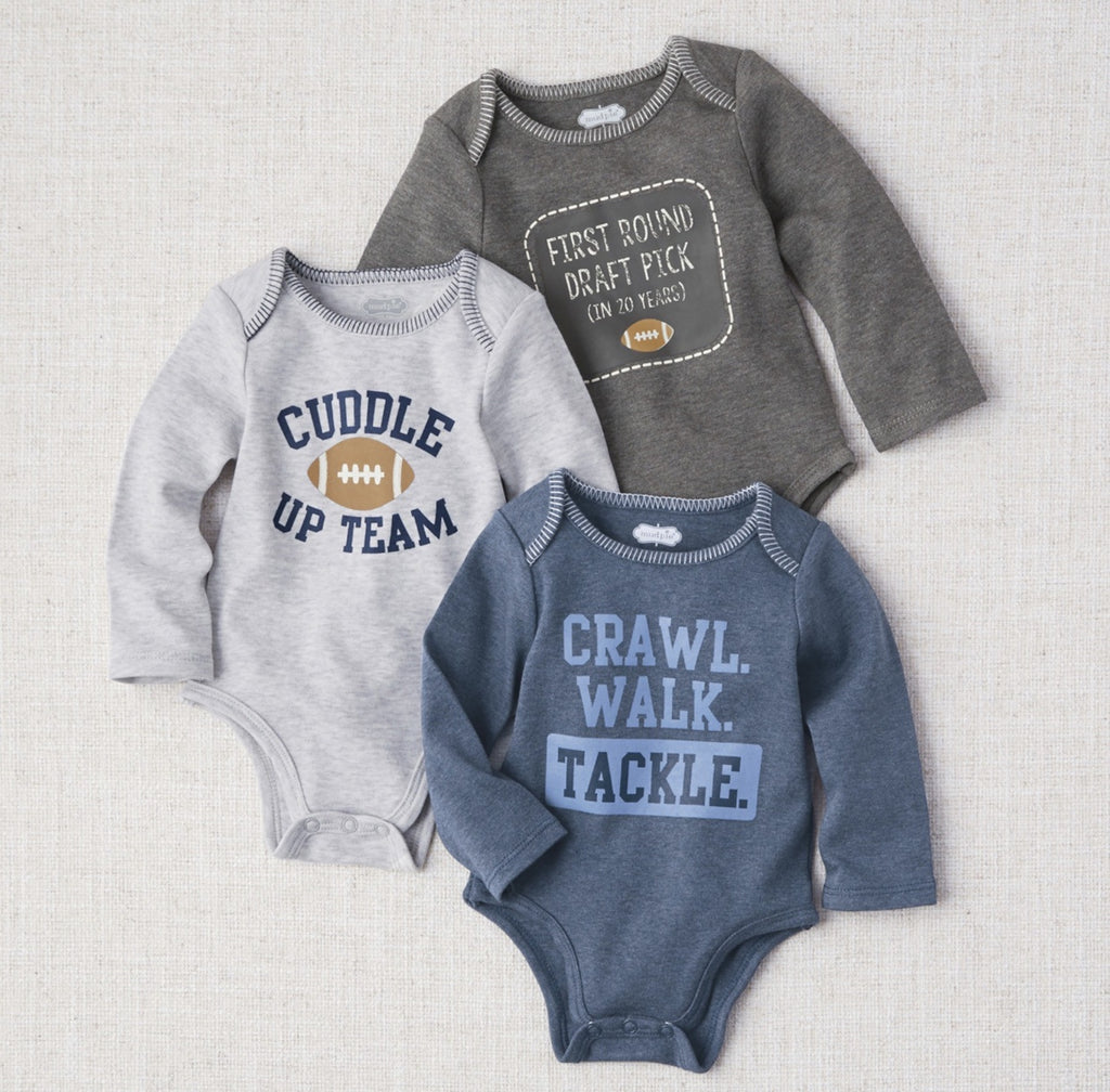 All Boy Football Crawlers: 0-6M