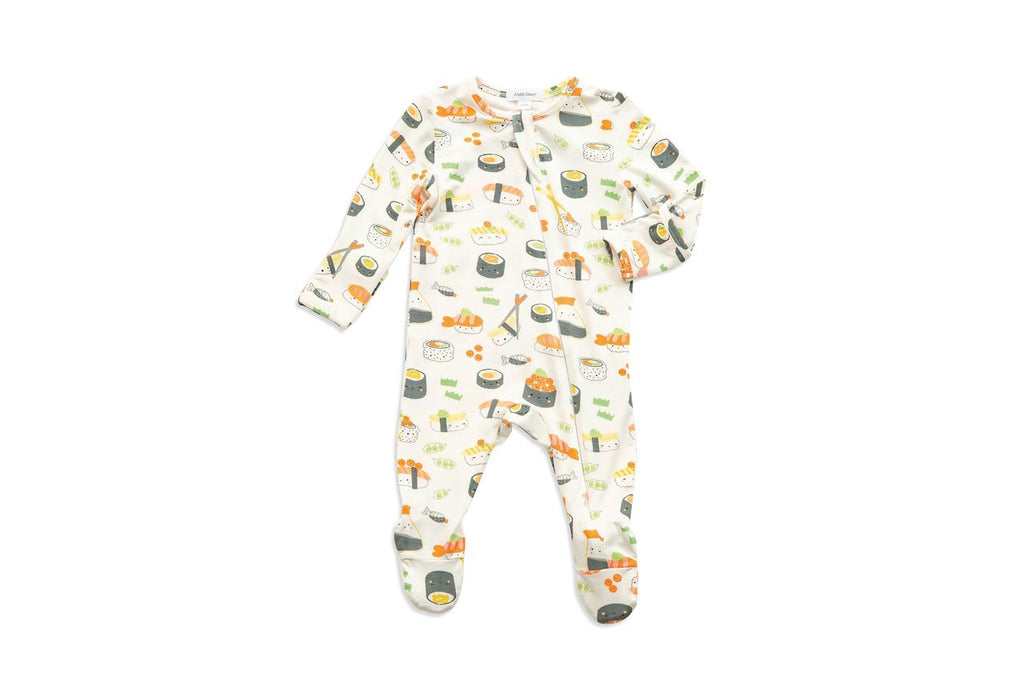 Sushi Zipper Footie