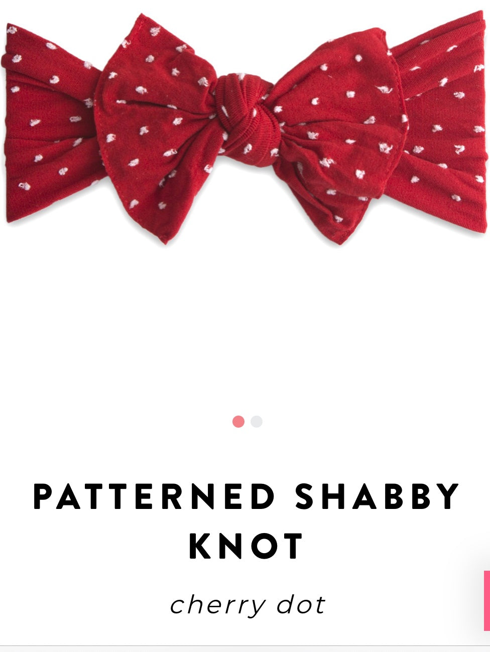 Shabby Cherry Dot