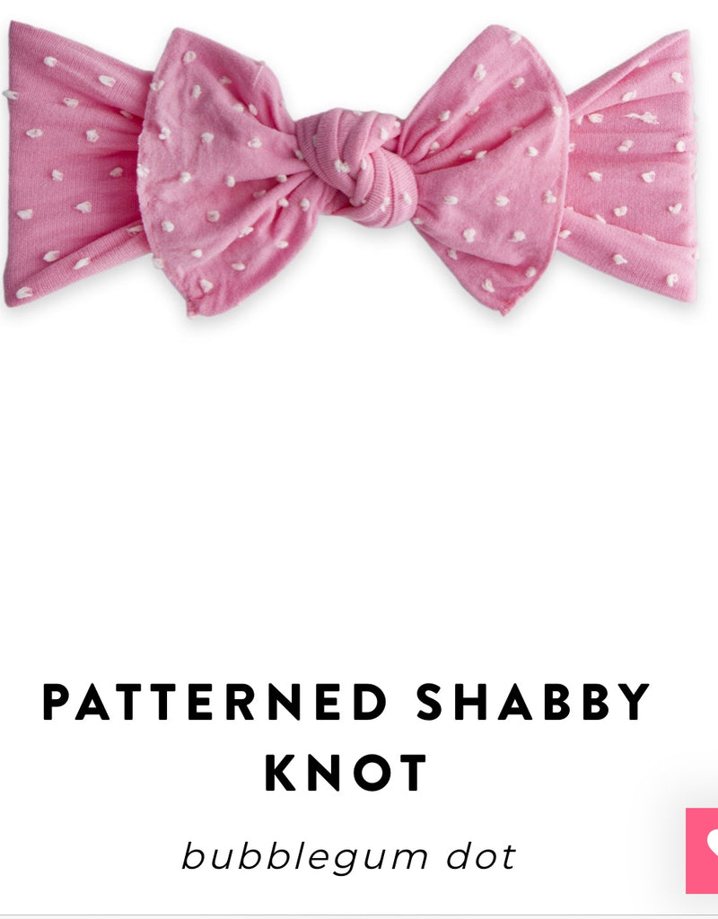 Baby Bling Bow: Patterned Knot
