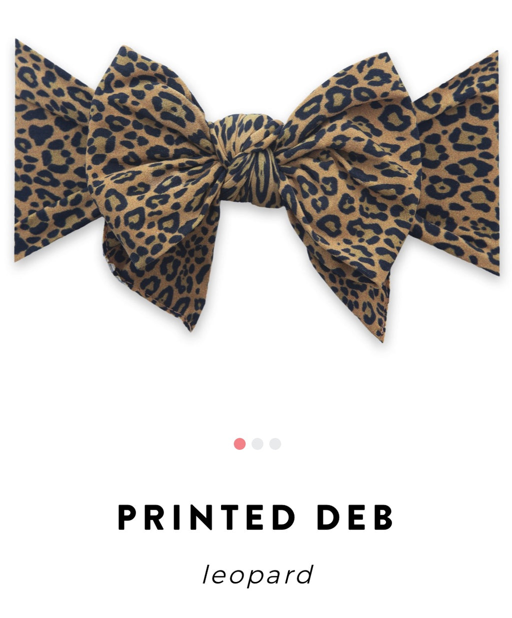 Baby Bling Bow: Printed DEB