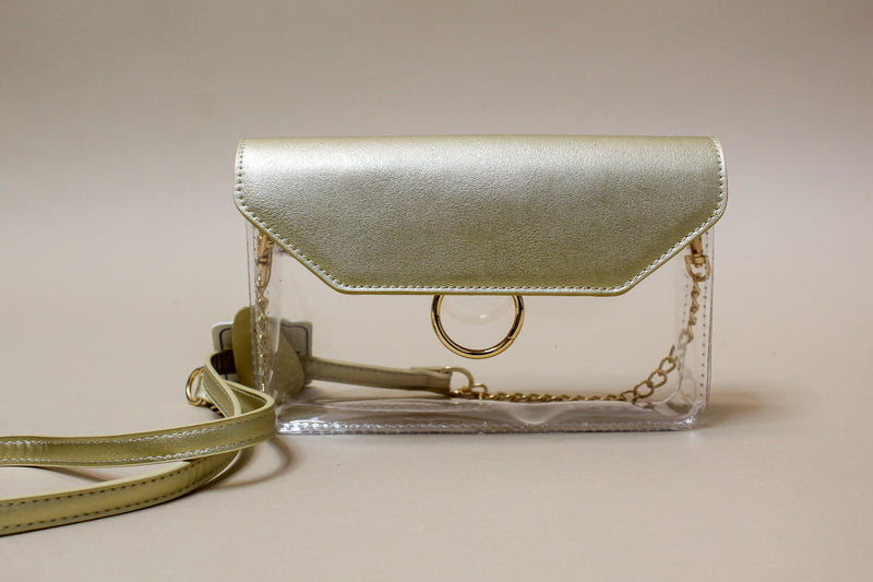 Mini Clear Flap Bag
