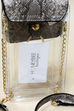 Sideline Clear Cell Phone Bag