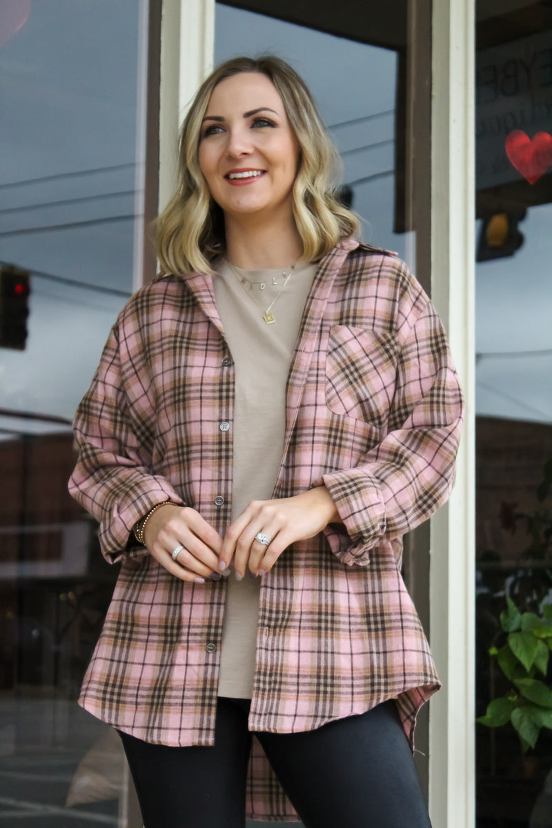 Boyfriend Button-Down Overshirt