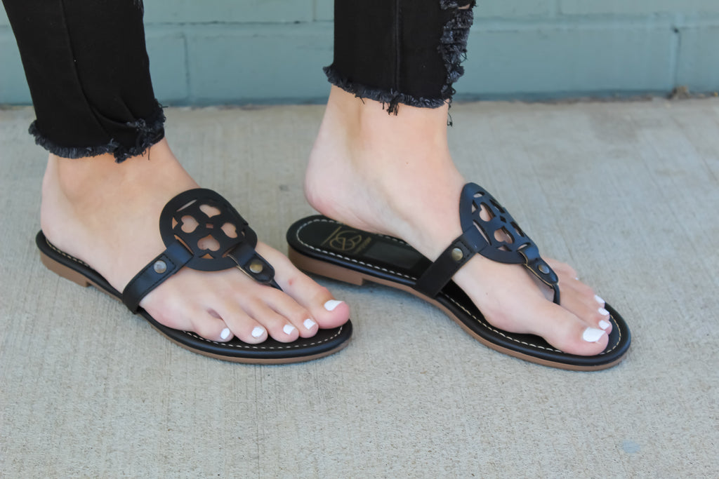 Ashton Medallion Sandals