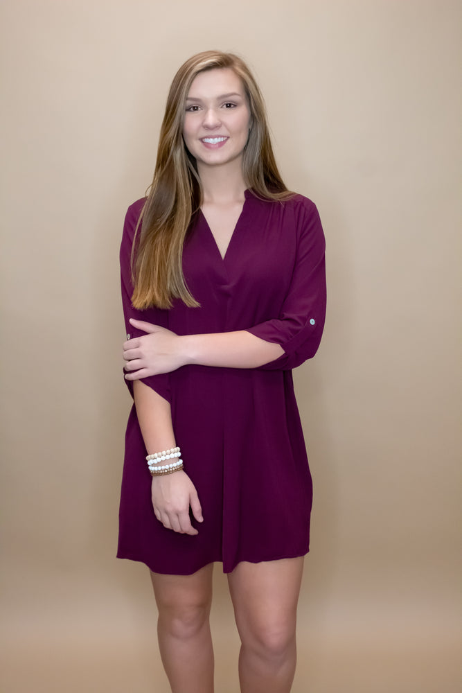 Jenna V-Neck Dress