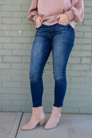 Carter Mid Rise Skinnies