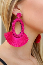 Gonna Be Me Tassel Earring