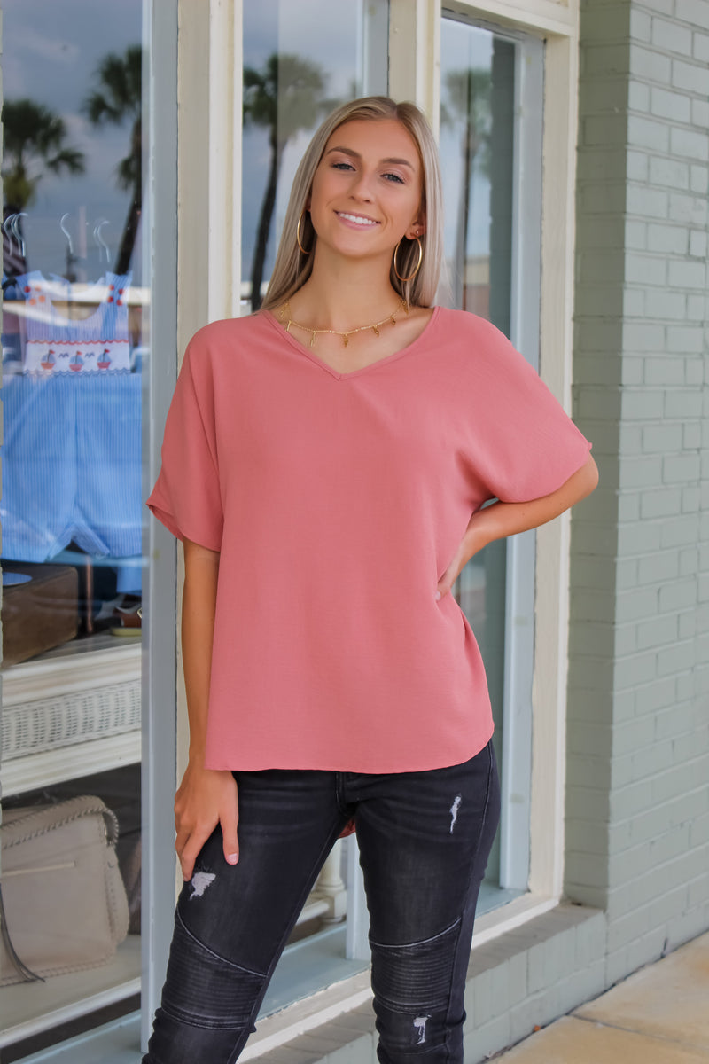 Claire V-Neck Top
