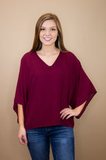 Game Day V-Neck Blouse