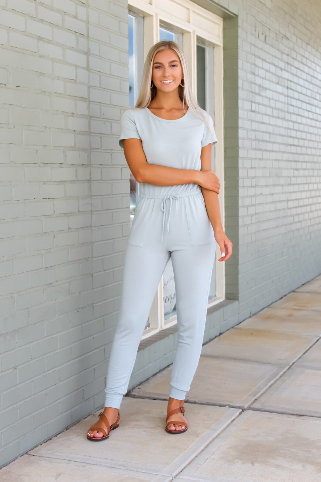 Keep It Casual Knit Jumpsuit