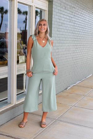 Hey Olive Culotte Jumpsuit