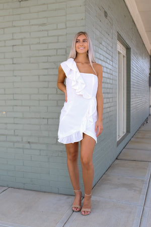 Darling Diana Ruffle OS Dress