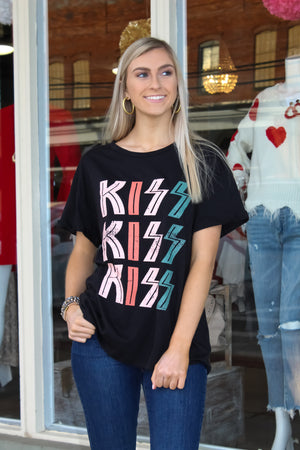 KISS 3x Graphic Top
