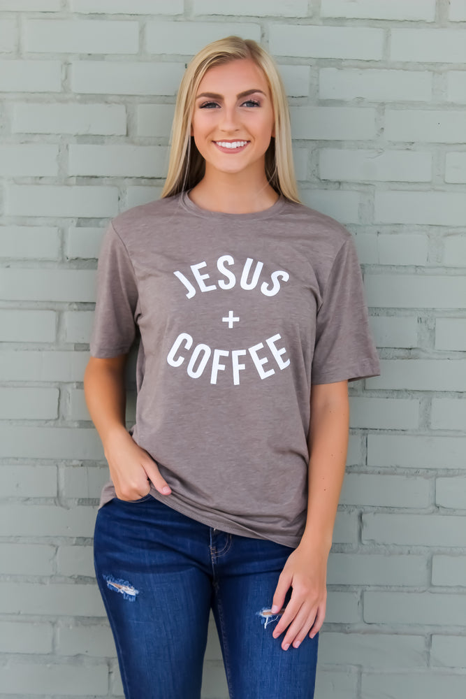 Jesus + Coffee Tee
