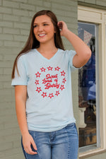 Land of Liberty V-Neck Tee