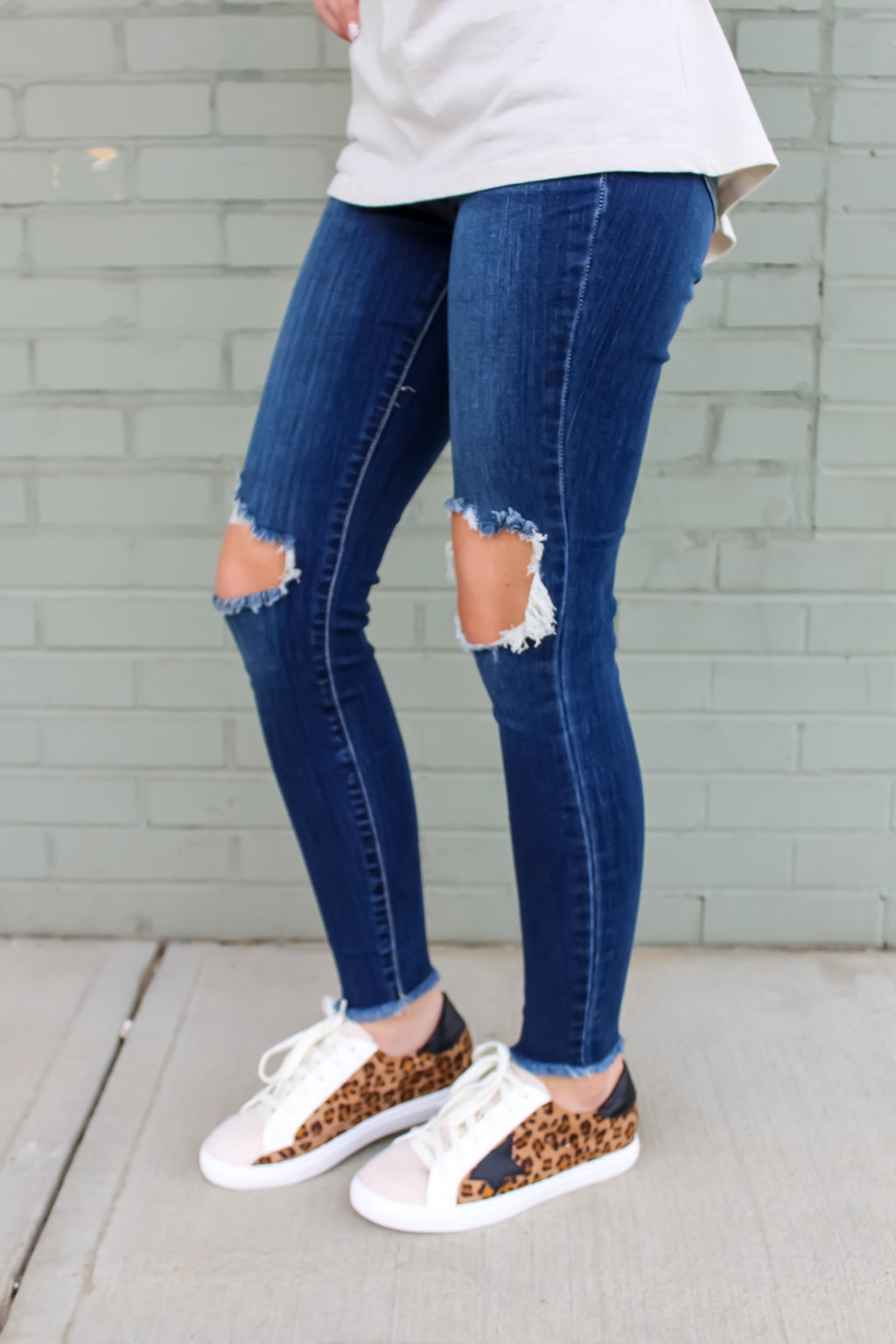 Millie Dark Denim Skinnies