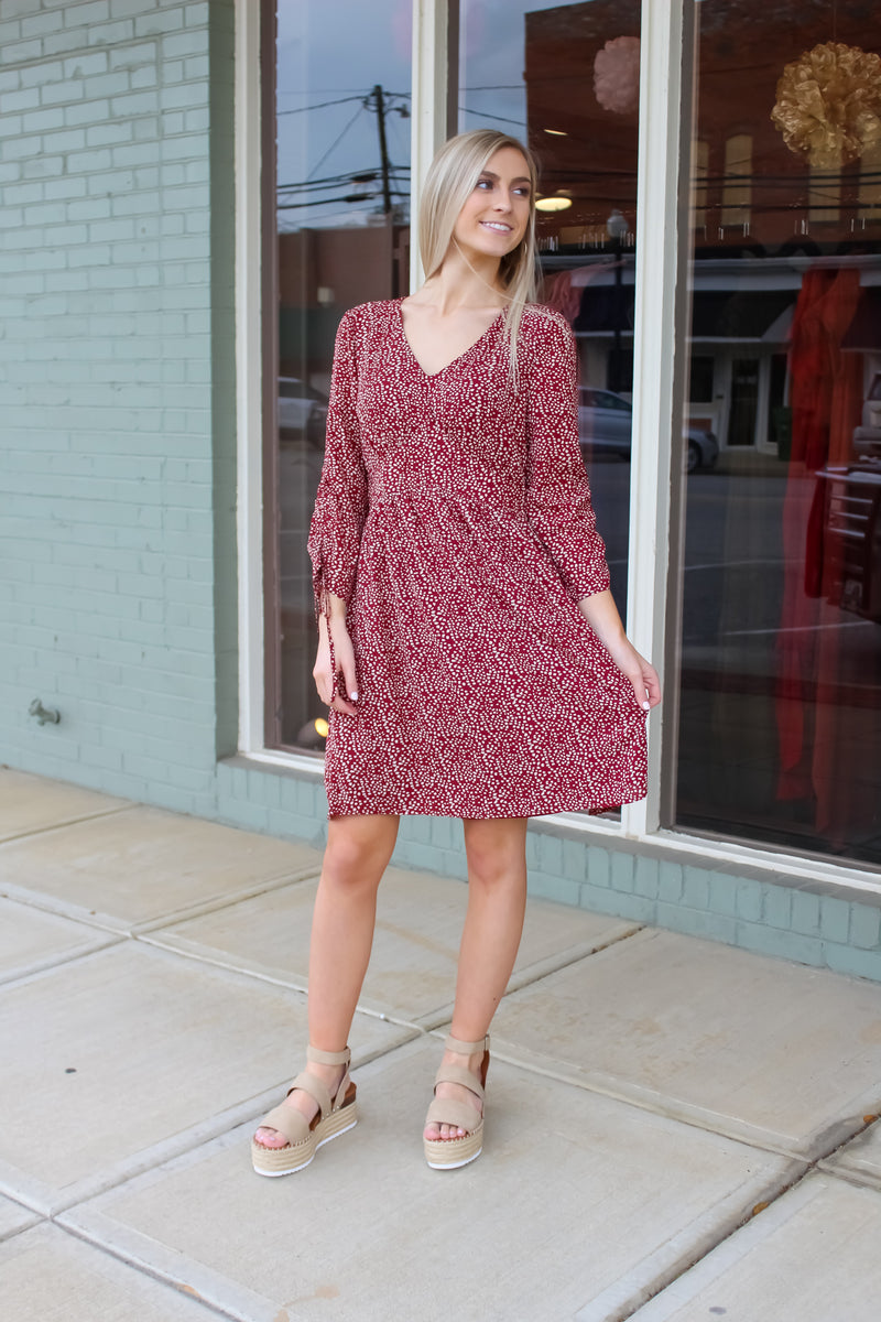 Hailey Dot Dress