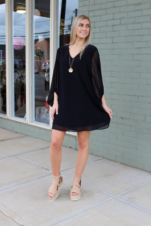 Candice Bubble Sleeve Dress