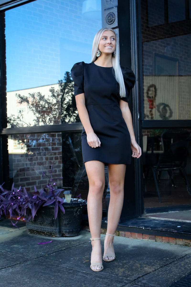 Khloe Puff Sleeve Dress