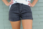 Charcoal Pocket Shorts