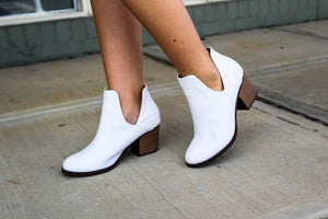 Valentina Cut Ankle Bootie