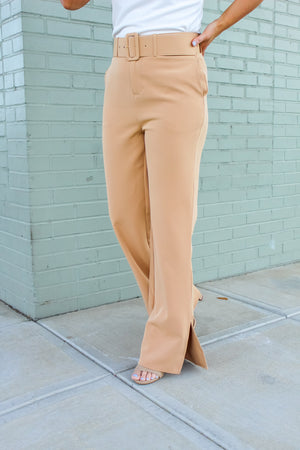 Disco Vibes Belted Pant