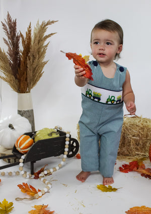 Harvest Time Smocked Boys Longall