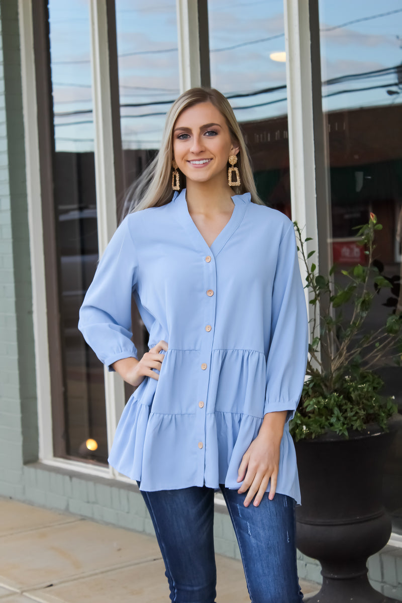 Brenna Tiered Top