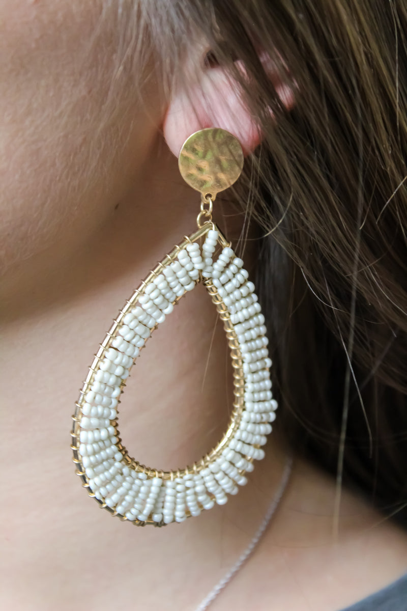 No Teardrop Earring