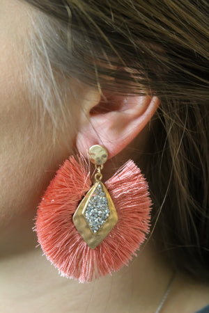Eyes on Me Statement Earring