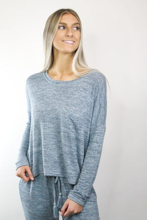 Multi Knit Pocket Top