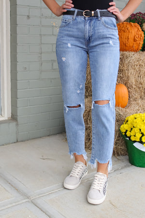 Lettie Slim Fit Boyfriend Jeans
