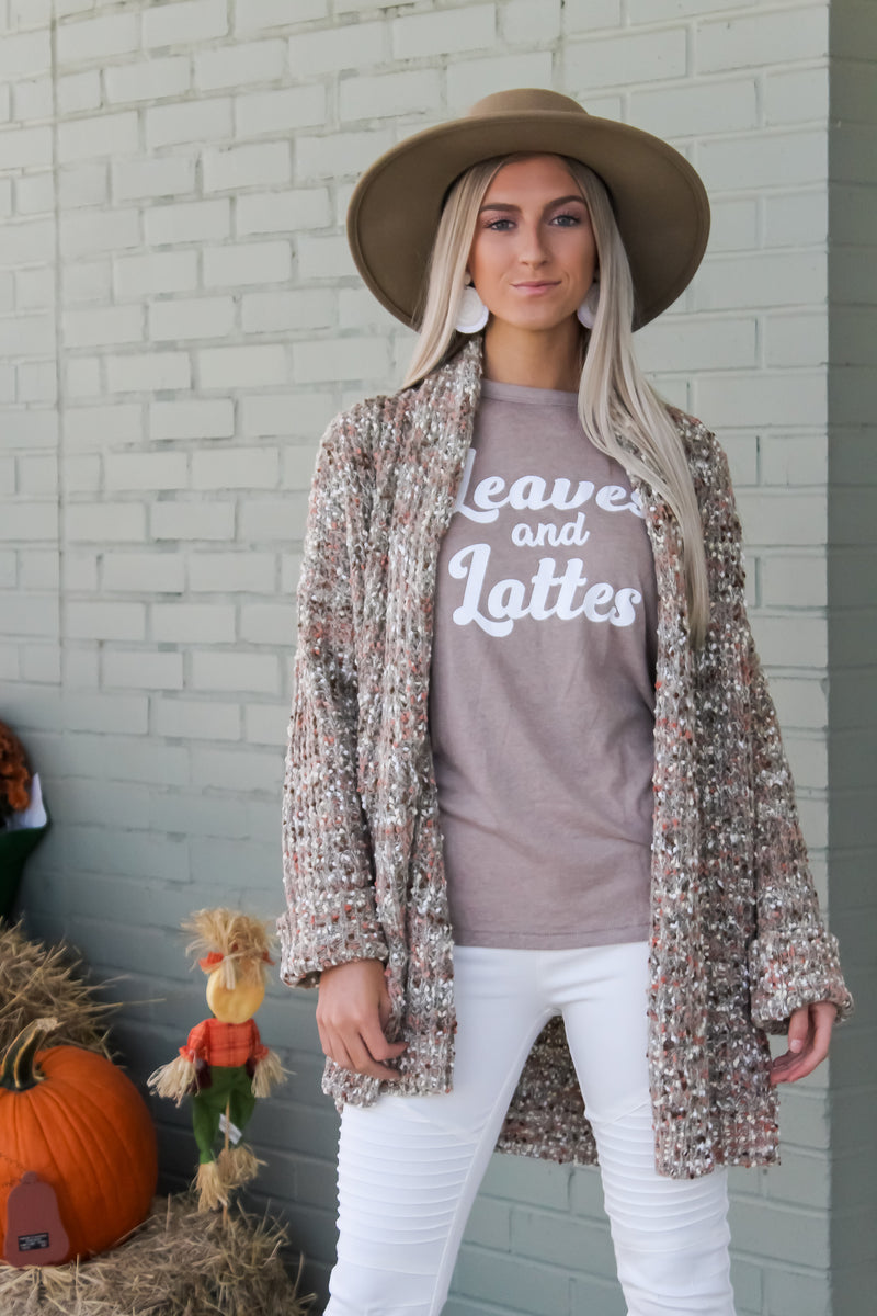 Rory Multi Speckled Cardigan