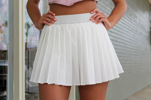 On the Court Pleated Skort