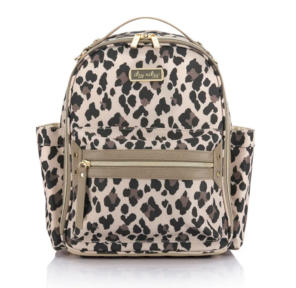 Leopard Itzy Mini Backpack