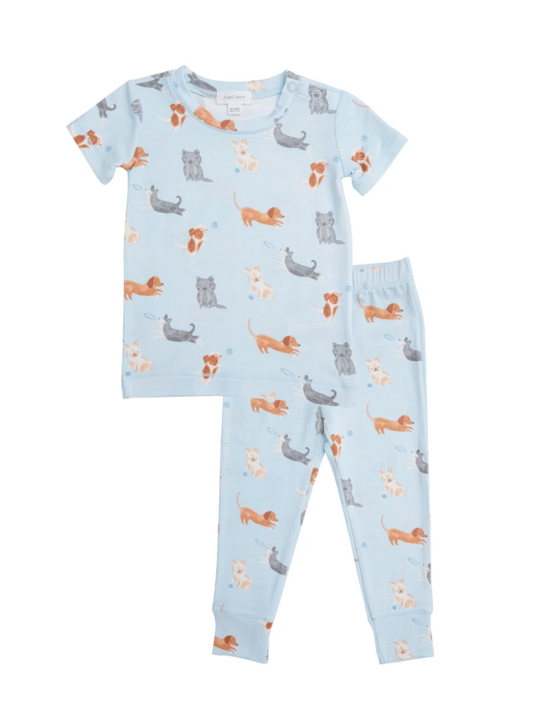 Puppy Play Lounge Wear Set - Boys