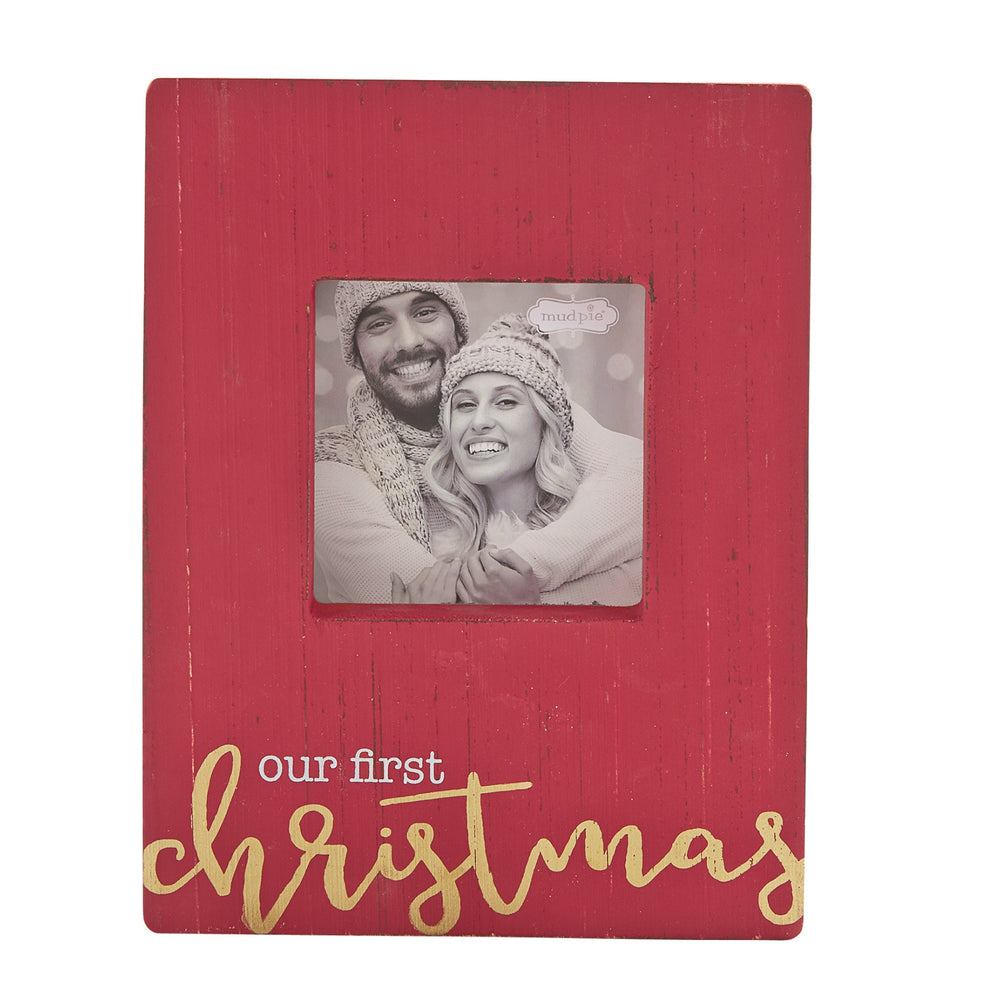 Christmas Family Block Frames