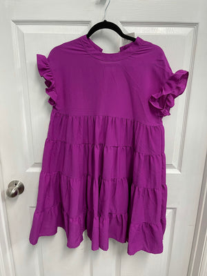 Lydia Tiered Ruffle Dress