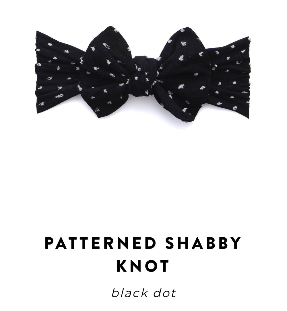 Shabby Black Dot