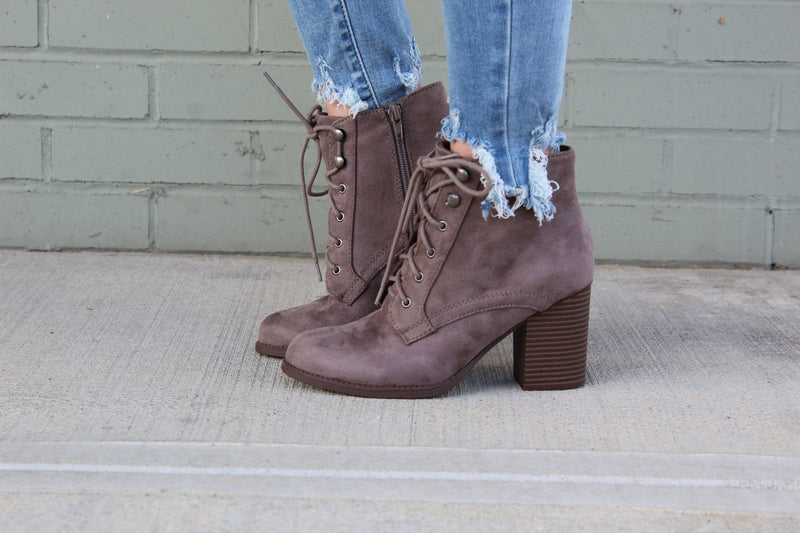Lurk Lace-Up Bootie